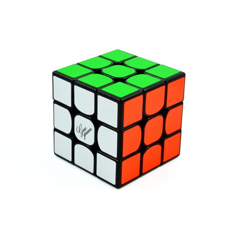 MoYu 3x3x3 GuoGuan Yuexiao Czarna pic1