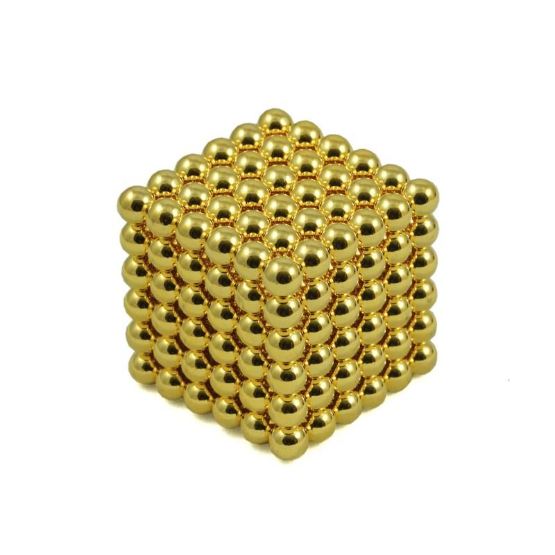 Kulki Neocube 5mm Złote pic4
