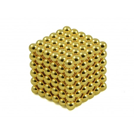 Kulki Neocube 5mm Złote pic5