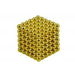 Kulki Neocube 4mm Złote pic4