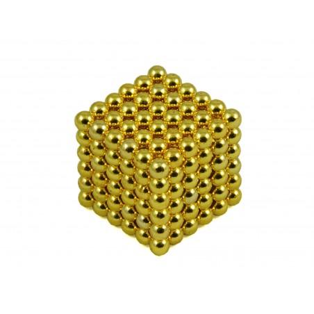 Kulki Neocube 4mm Złote pic5
